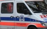 Wypadek w Kielcach. Pieszy wbiegł na czerwonym świetle?