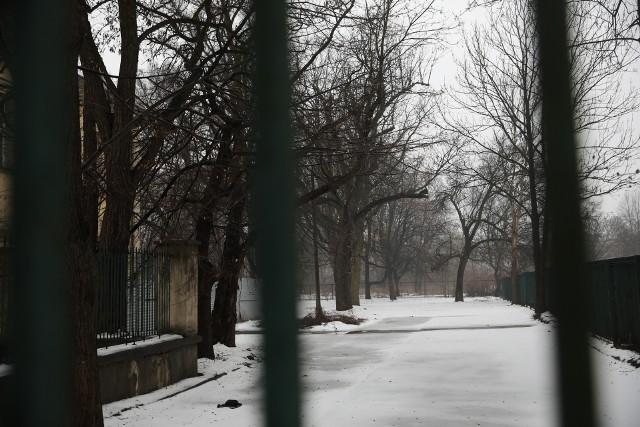 """Park Jalu Kurka wciąż jest zamknięty na cztery spusty. Po uchwaleniu planu """"Kleparz"""" jedyną funkcją dla tego terenu jest właśnie park"""