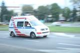 Wypadek motocyklisty w dolinie Popradu