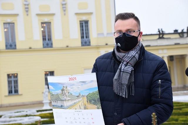 #BiałystokTakBlisko – to hasło kalendarza ściennego na 2021 rok wydanego przez Urząd Miejski