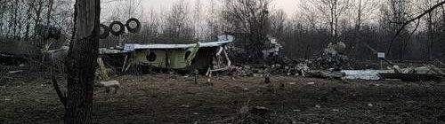 rosyjskie zdjęcie zrobione wkrótce po tragedii