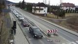 Na zakopiance z godziny na godzinę coraz tłoczniej. Zaczynają się utrudnienia na trasie Zakopane - Kraków [ZDJĘCIA, MAPY, CZAS PRZEJAZDU]