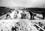 86 lat temu rozpoczęto budowę A4 pod Wrocławiem. Tak powstawała (ARCHIWALNE ZDJĘCIA)