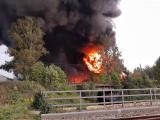 Sosnowiec chce przejąć teren po wielkim pożarze składowiska odpadów, który wybuchł we wrześniu. Trwa śledztwo