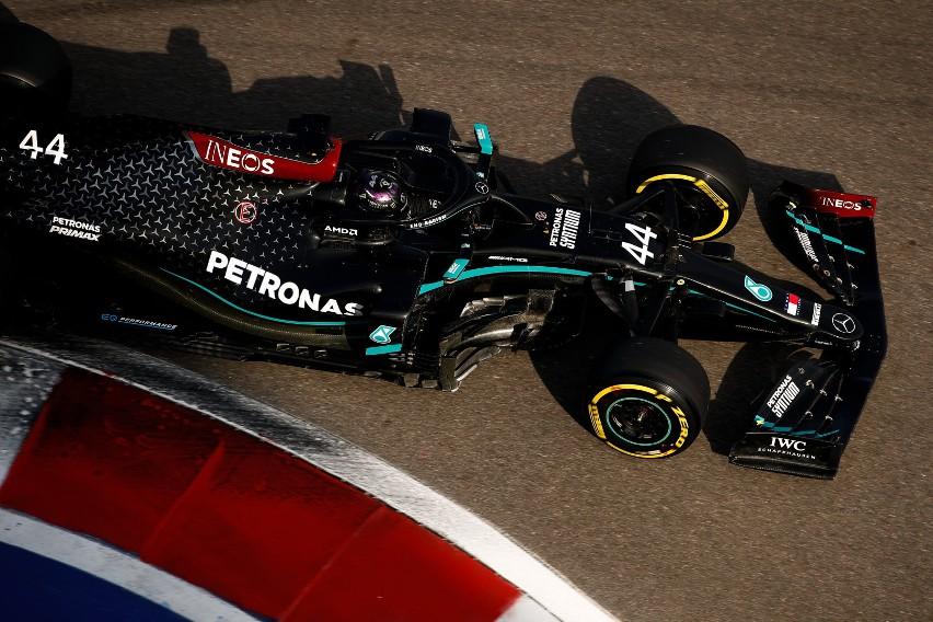 Red Bull pokrzyżował Mercedesowi kwalifikacje do Grand Prix Rosji