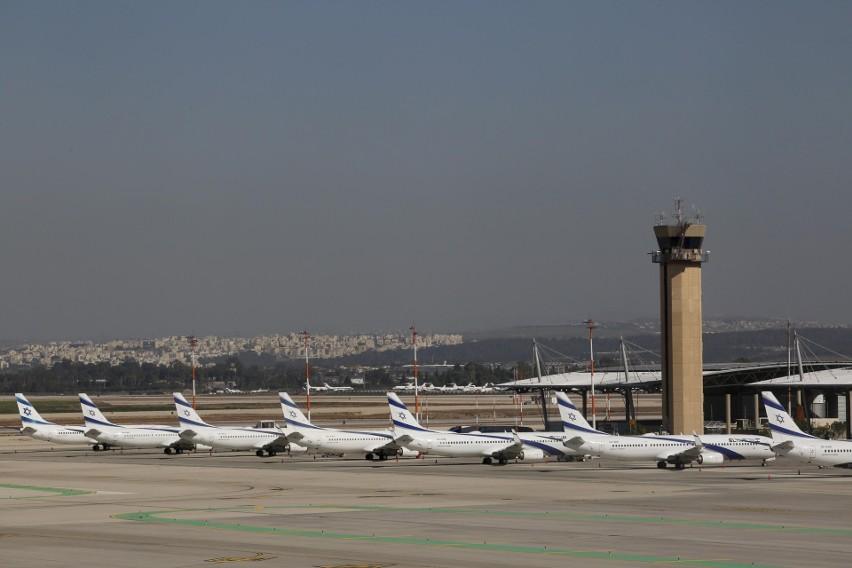 Izrael: obawiając się nowego wariantu wirusa, zamyka  swoje jedyne międzynarodowe lotnisko