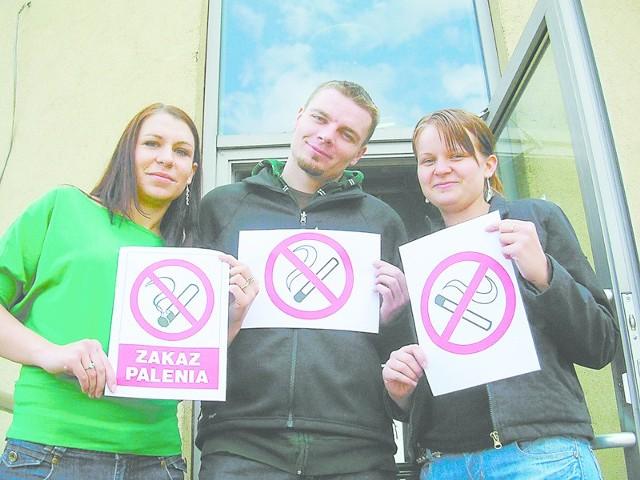 - Więcej wolności ma dym papierosowy, niż osoby niepalące - mówili studenci