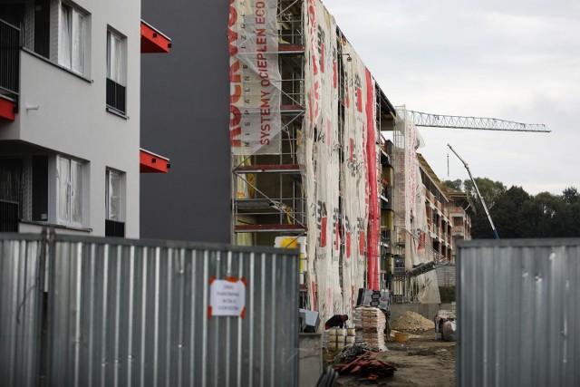 Budowa mieszkań z programu Mieszkanie Plus w Krakowie