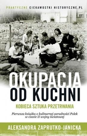 """Okładka książki """"Okupacja od kuchni"""""""