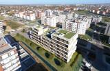 """Budynek z zielonymi tarasami na dachu ma powstać na osiedlu """"Projektant"""" w Rzeszowie [WIZUALIZACJE]"""