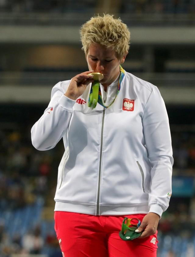 Anita Włodarczyk ma dwa olimpijskie medale. Pierwszy zdobyła w Londynie.