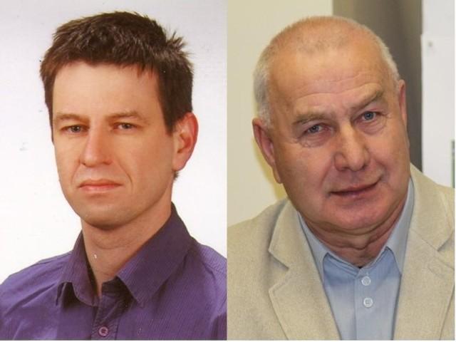 """Bartosz Dawidowicz  (""""Toruń bez hałasu"""") i Adam Stando (""""Teraz Most"""")"""