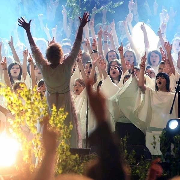 Muzycy grali najpiękniejsze utwory muzyki chrześcijańskiej