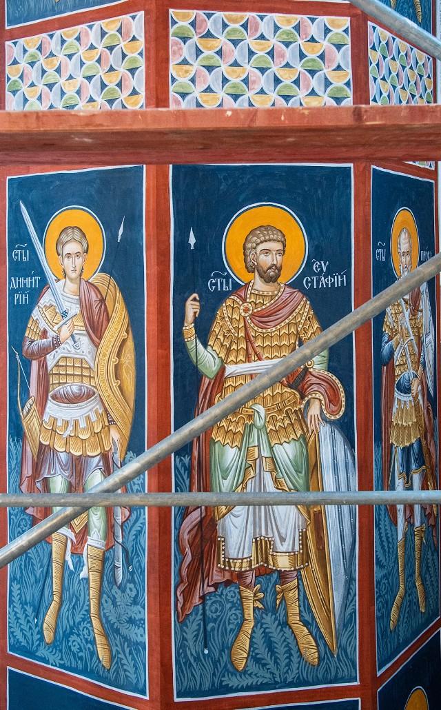 Supraśl. Cerkiew Zwiastowania Przenajświętszej Bogurodzicy ma nowe freski