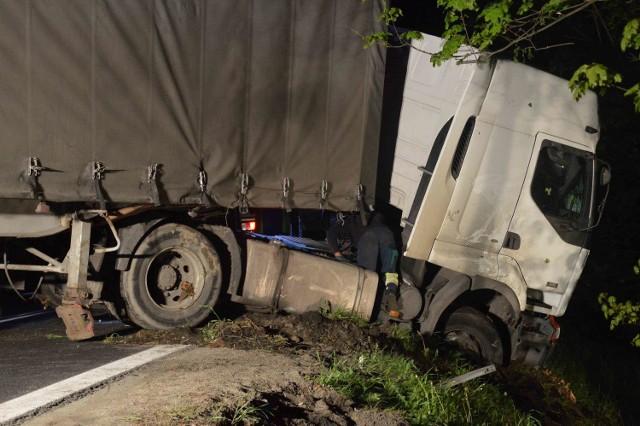 Tir został odnaleziony w miejscowości Haćki. Po kierowcy nie było żadnego śladu (zdjęcie ilustracyjne)