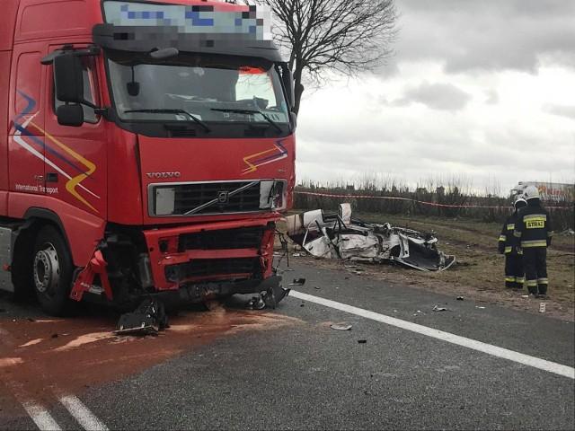 Fot. ewa bochenko wypadek smiertelny poswietne dk8 / kurier poranny, gazeta wspolczesna / polskapress