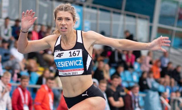 Kornelia Lesiewicz (AZS AWF Gorzów) w wielkim stylu wygrała bieg na 400 m na mistrzostwach Polski juniorów