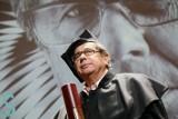 Janusz Gajos otrzymał tytuł doktora honoris causa łódzkiej Szkoły Filmowej [zdjęcia]