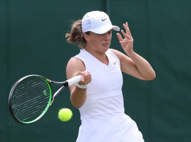 Iga Świątek to juniorska mistrzyni Wimbledonu z 2018 roku