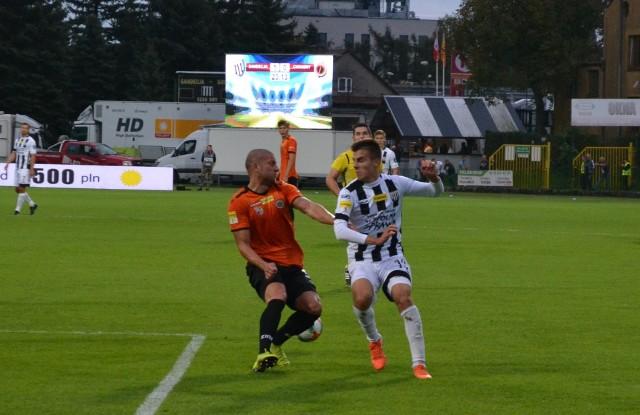 Wychowanek Kamil Ogorzały wiele daje Sandecji nie tylko na boisku, ale również poza nim - choćby w klasyfikacji Pro Junior System