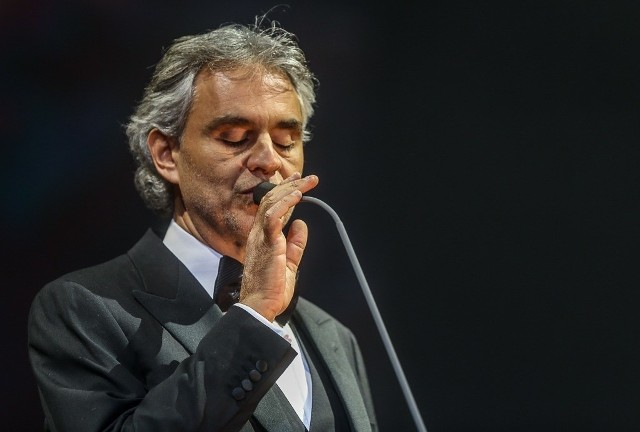 Andrea Bocelli wystąpił w Ergo Arenie 23 stycznia