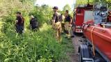 Samochód zatonął w Przemszy przy autostradzie A4 na granicy Imielina i Jaworzna. Auto w rzece zauważyli przechodnie, zbadali je nurkowie