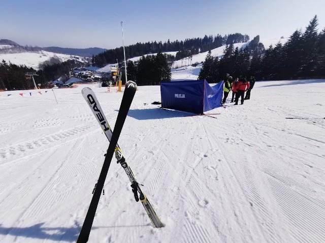 Na razie nie wiadomo co było bezpośrednią przyczyną śmierci narciarza na stoku w Krynicy-Zdroju