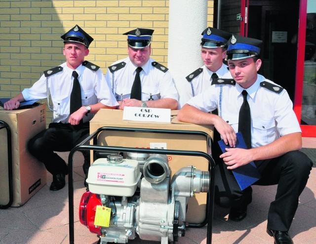 Strażacy z Gorzowa są zadowolenie z nowego ekwipunku