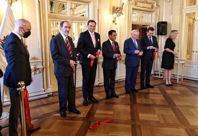 W Teatrze im. Juliusza Słowackiego odbyło się uroczyste otwarcie Konsulatu Honorowego Republiki Peru w Krakowie.