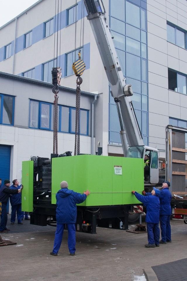 Za ok. 7,5 mln zł KAN kupił cztery nowoczesne maszyny do przetwórstwa tworzyw sztucznych, bardzo wydajny automat tokarski oraz maszynę do plastycznej obróbki blachy