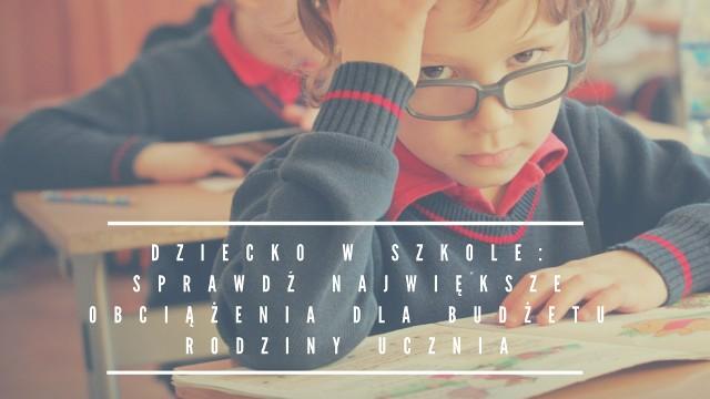 Pierwszy września zbliża się wielkimi krokami. Dla uczniów ten czas wiąże się z powrotem do szkolnej ławy, zaś dla rodziców - z wydatkami. Wiadomo, że edukacja to rzecz bezcenna, dlatego nie oszczędzamy na naszych pociechach. By sprawdzić, na co Polacy wydają najwięcej pieniędzy w roku szkolnym - przejdź do kolejnych slajdów.