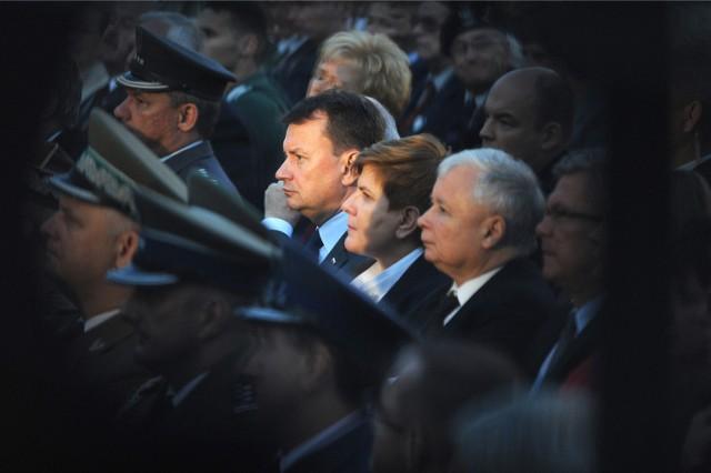 71. rocznica wybuchu Powstania Warszawskiego. Uroczystości na placu Krasińskich