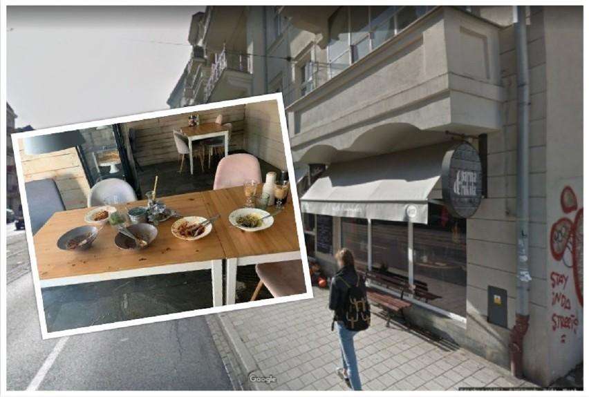 Poznańska restauracja Parma i Rukola, która mieści się przy...