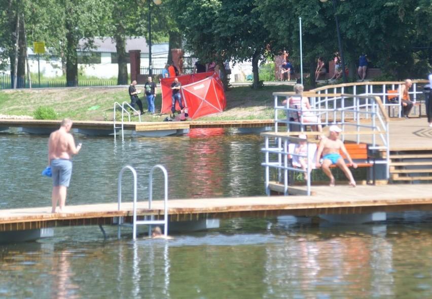 Akcja ratunkowa nad zalewem Borki rozpoczęła się w sobotę...