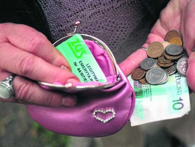 W Wielkopolsce najniższa emerytura wynosi 43 grosze