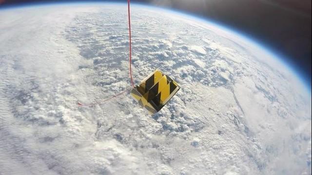 To zdjęcie Ziemi ze stratosfery wykonała sonda zbudowana przez 16-latka!