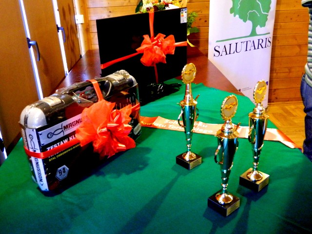 Nagrody dla laureatów konkursu na najpracowitszych sołtysów
