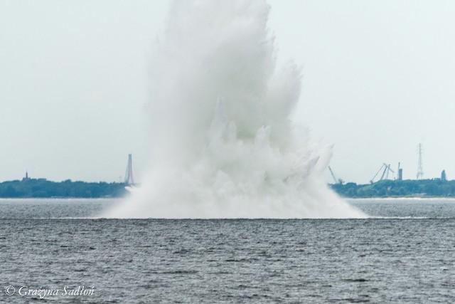 Neutralizacja niemieckiej miny GC. Zatoka Gdańska, 16.06.2020 r.