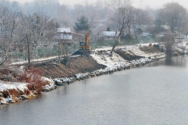 Zmodernizowane wały przeciwpowodziowe mają chronić 40 tysięcy mieszkańców