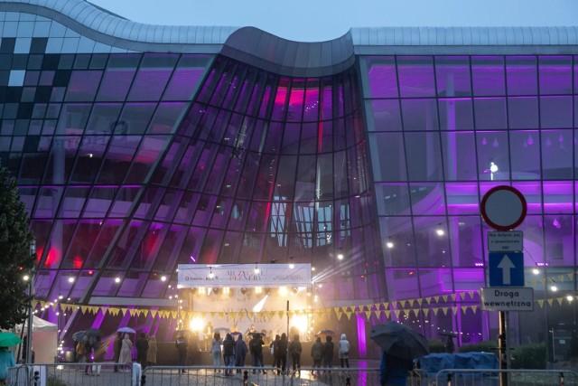 Pierwszy krakowski koncert w pandemii odbył się w deszczu
