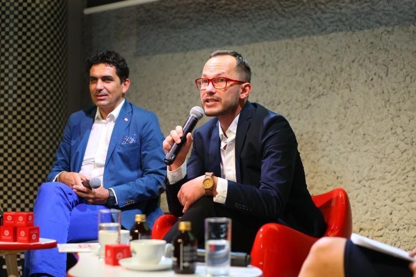 Krzysztof Maj, dyrektor festiwalu, Tomasz Kireńczuk,...