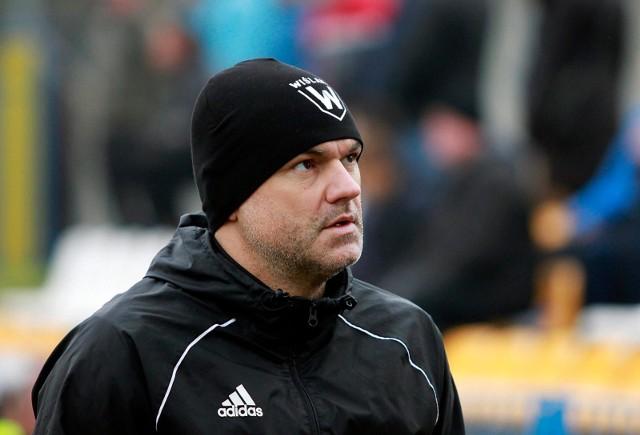 Trener Wiślan Wojciech Ankowski