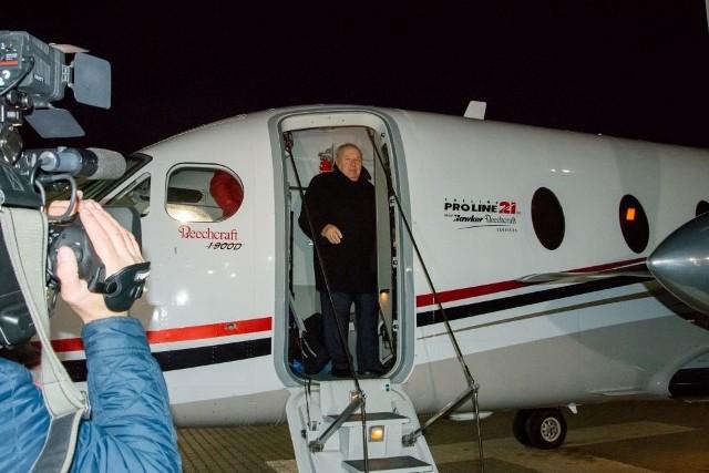 Amerykański samolot Beechcraft 1900D dołączył do floty lotniczej podlaskiej firmy Pronar