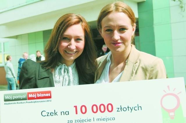 Mój pomysł Mój biznes. Laureatki ubiegłorocznej edycji konkursu założyły fundacjęUbiegłoroczne laureatki konkursu: Ewelina Ambrożej (z lewej) i Beata Białek. Zaraz po wręczeniu nagród mówiły: założymy własną firmę.