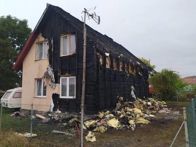 Rodzina chce być znowu razem. Pożar zniszczył wszystko i rozdzielił bliskich sobie ludzi.