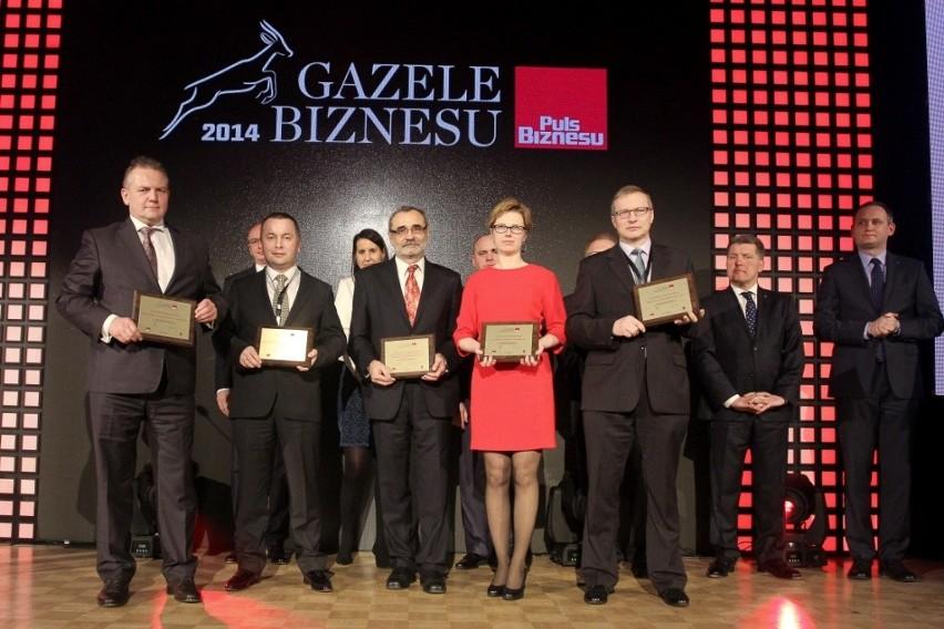 APS SA po raz czwarty Gazelą BiznesuBożena Matoszko z APS podczas gali Gazel BIznesu