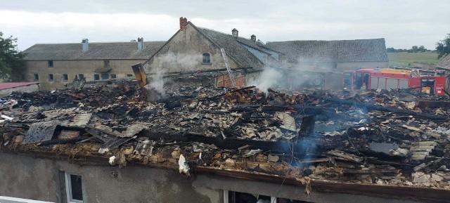Pożar w Sulinowie.