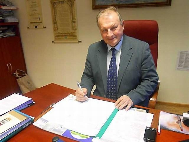 """Wiktor Kolbowicz, prezes kliniki """"Pod Tężniami""""  planuje budowę odkrytego całorocznego podgrzewanego basenu"""