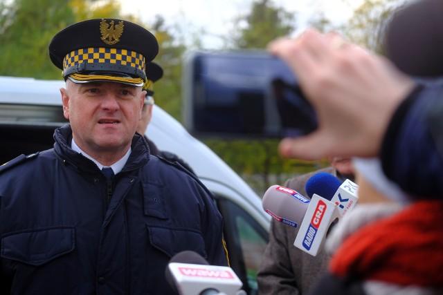 Mirosław Bartulewicz, komendant Straży miejskiej w Toruniu.