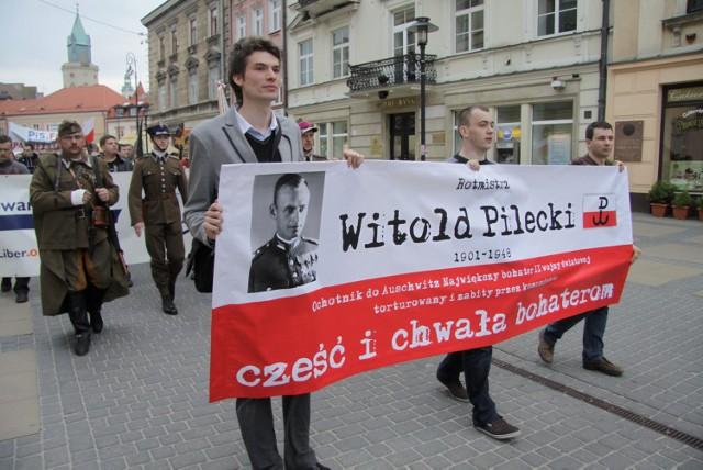 Lublin: Marsz ku pamięci rotmistrza Pileckiego
